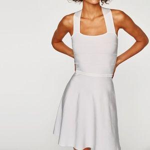Zara White Bandage Dress